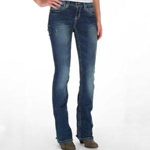 BKE Culture Stretch Boot Cut Jeans Size 27